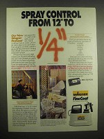 1993 Wagner FineCoat Paint Sprayer Ad - Control