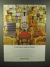 1989 Century Furniture Ad - What We Made For Dinner