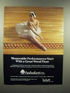 1989 Hoboken Wood Floor Ad - Memorable Performances