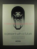 1989 Hoya Crystal Ad - A Present With a Future