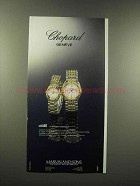 1988 Chopard Gstaad Watch Ad - Timeless Masterpiece