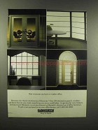 1988 Haworth Architectural Elements Office Furniture Ad