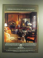 1988 Sanderson Wallpapers and Fabrics Ad - English Look