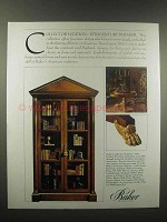 1988 Baker Furniture Ad, Collector Edition 19th Century