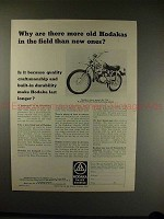 1972 Hodaka B+ Motorcycle Ad - More Old than New Ones!