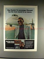 1976 Craig Powerplay Stereo Ad w/ Ray Charles - NICE!!