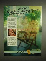1988 La-Z-Boy Recliner Ad - The Number One Recliner