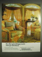 1988 Schumacher Fabrics, Carpet Ad - Great Things