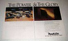 1988 Makita Cordless Power Tools Ad - Power & Glory