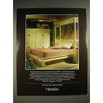 1987 Henredon Folio 16 Furniture Ad