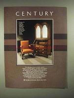 1986 Century Furniture Ad