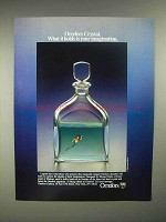 1986 Orrefors Decanter Ad - Edward Hald