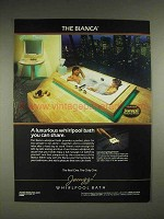 1984 Jacuzzi Bianca Whirlpool Bath Ad - You Can Share