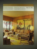 1984 McGuire Furniture Ad