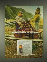 1984 Duracell Battery Ad - We're On The Right Track