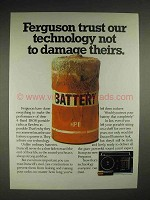 1984 Duracell Battery Ad - Ferguson Trust Technology