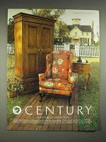 1983 Century Craftsbury Furniture Ad