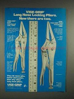 1982 Vise-Grip Long Nose Locking Pliers Ad - 6LN, 9LN