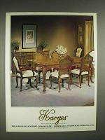 1982 Karges Furniture Advertisement