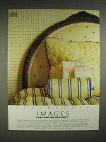 1982 Schumacher Images Fabric, Wallpaper Ad