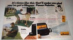 1982 Wagner Power Painter Ad - Make You Glad