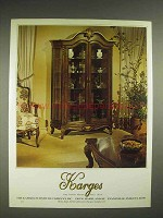 1980 Karges Furniture Ad - Curio Cabinet