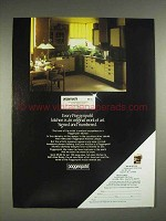1980 Poggenpohl Kitchen Cabinets Ad - Signed Numbered