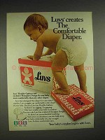 1980 Luvs Diapers Ad - The Comfortable Diaper