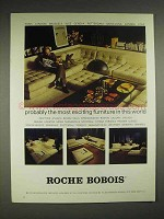 1980 Roche Bobois Furniture Ad - Probably the Most Exciting in this World