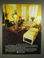 1979 Century Furniture Ad - Charlotte Williams
