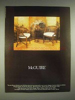 1979 McGuire Furniture Ad
