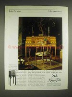1979 Baker Collector's Edition Furniture Ad