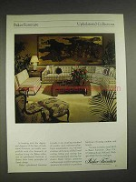 1979 Baker Upholstered Collection Furniture Ad