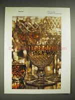 1979 Waterford Crystal Ad - Fire Born of Fire