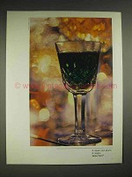 1979 Waterford Crystal Ad - It Never Just Pours