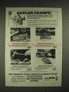 1977 S-K tools Ad - NASCAR Cale Yarborough, Herb Nab