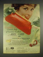 1959 3M Scotch Tape Ad - Amity Clutch Bag