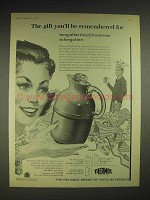 1958 Thermos Vacuum Vessels Ad - Model 54Q Jug