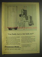 1956 Fairbanks-Morse Electric Water Heater Ad
