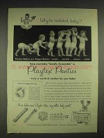 1952 Playtex Panties Baby Pants - Why Be Irritated?
