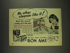 1952 Bon Ami Cleanser Ad - No Other Like It!