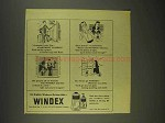 1946 Windex Cleaner Ad - Miracle! Apartment to Rent