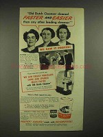 1945 Old Dutch Cleanser Ad - Faster and Easier