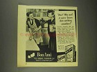 1945 Bon Ami Cleanser Ad - Fast? Why Not!