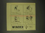 1944 Windex Cleaner Ad - Victory Gardening, Red Cross