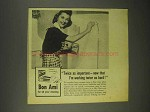 1944 Bon Ami Cleanser Ad - I'm Working Twice as Hard