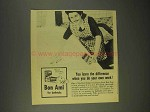 1944 Bon Ami Cleanser Ad - When You Do Your Own Work