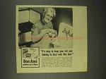 1943 Bon Ami Cleanser Ad - Keep Sink Looking Its Best