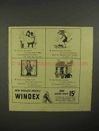 1941 Windex Cleaner Ad - Look at This Picture