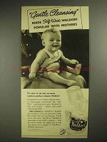 1940 Scott Tissue Waldorf Toilet Paper Ad - Cleansing